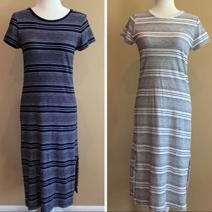 LOT OF 2 GAP Dresses Stripes Petite XS XSP